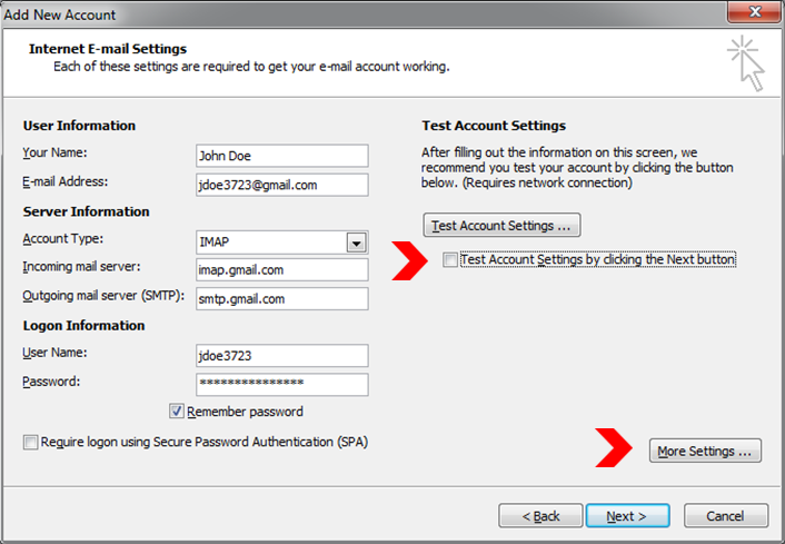 how to change gmail account holder name
